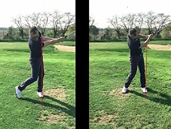 giocare golf osteopata